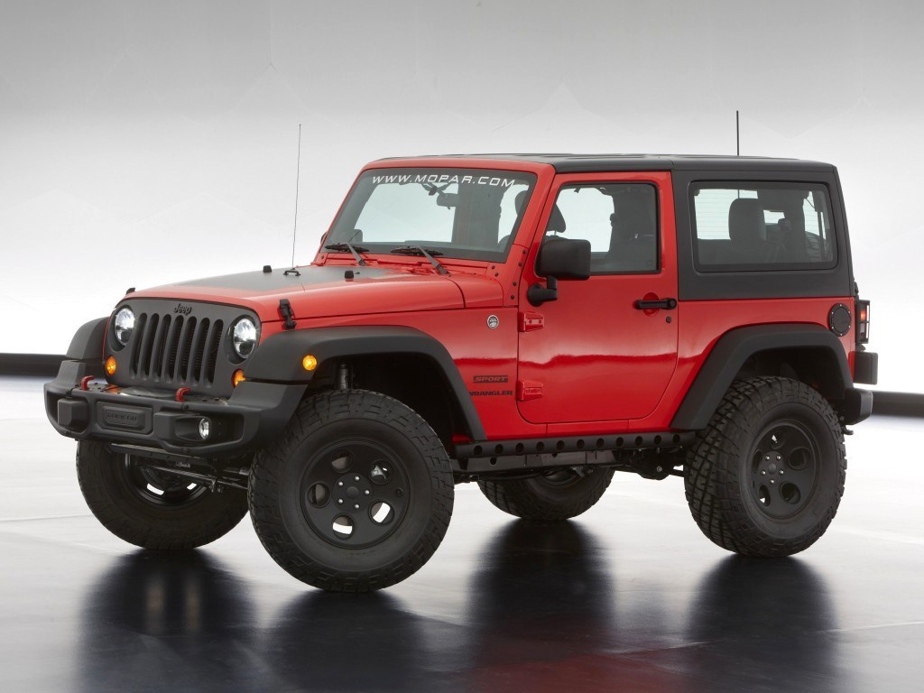 2013. Jeep Wrangler Slim Concept (JK)