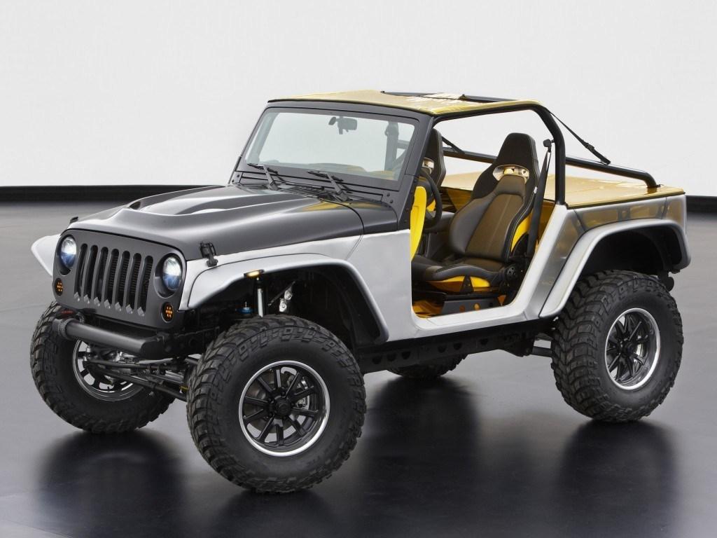 2013. Jeep Wrangler Stitch Concept (JK)