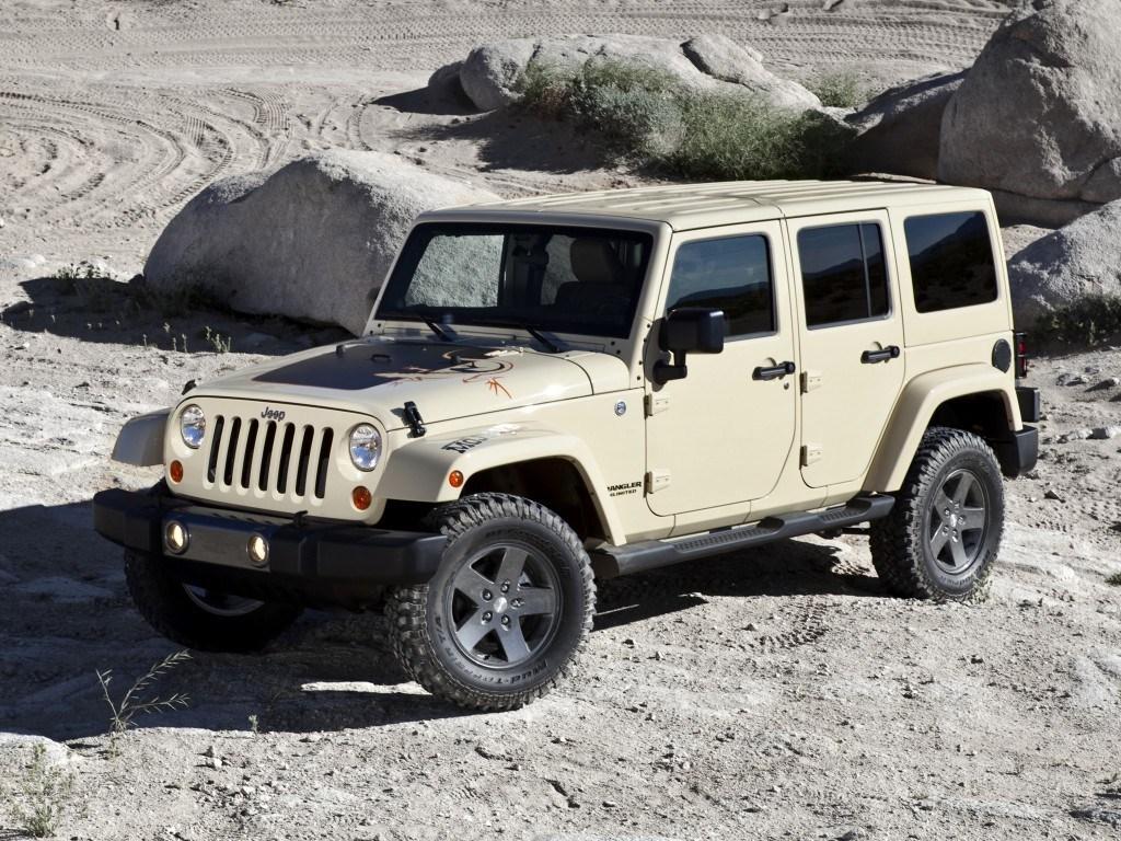 2011. Jeep Wrangler Unlimited Mojave (JK)