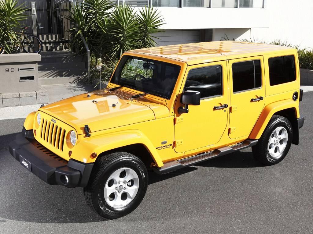 2013–н.в. Jeep Wrangler Unlimited Overland AU-spec (JK)