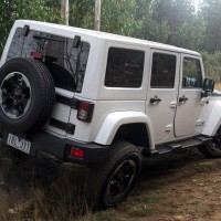2014. Jeep Wrangler Unlimited Polar AU-spec (JK)