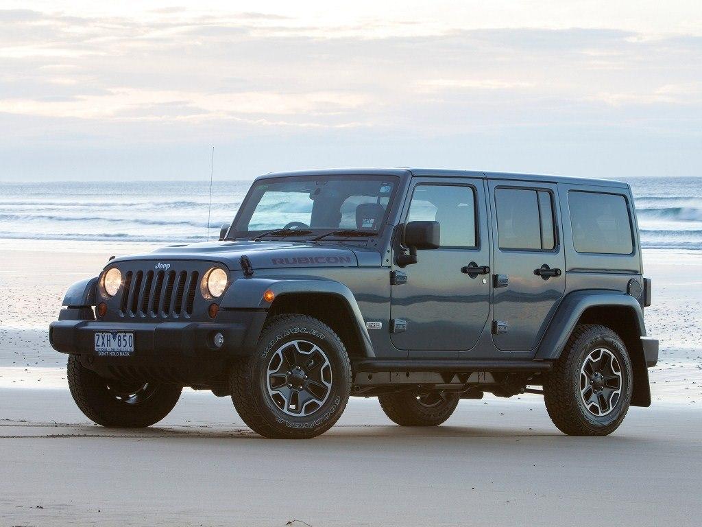 2013. Jeep Wrangler Unlimited Rubicon 10th Anniversary AU-spec (JK)