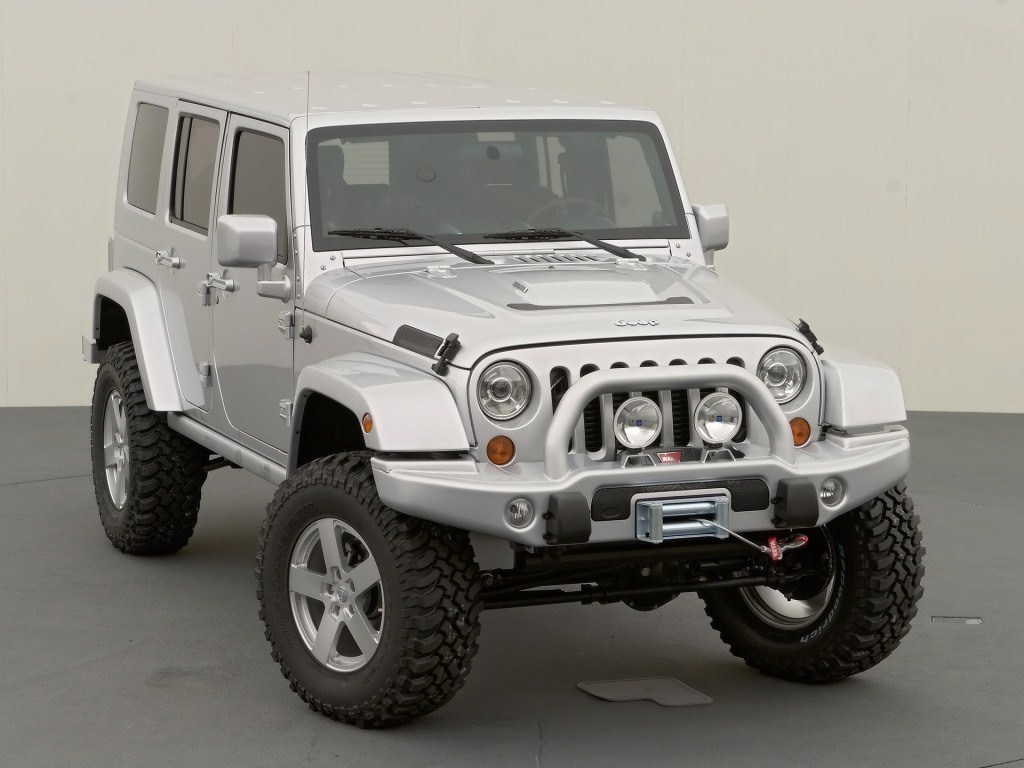 2006. Jeep Wrangler Unlimited Rubicon SkunkWerks (Concept) (JK)