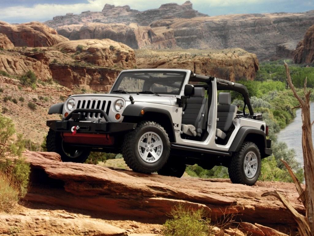 2009. Jeep Wrangler Unlimited X (Concept) (JK)