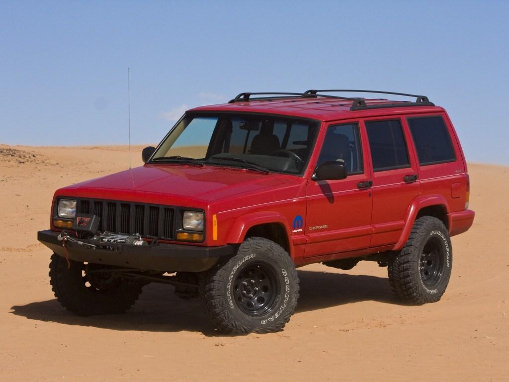 1997–2001. Mopar Jeep Cherokee (XJ)