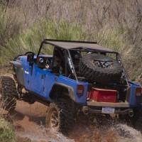 2011. Jeep Wrangler Blue Crush Concept (JK)