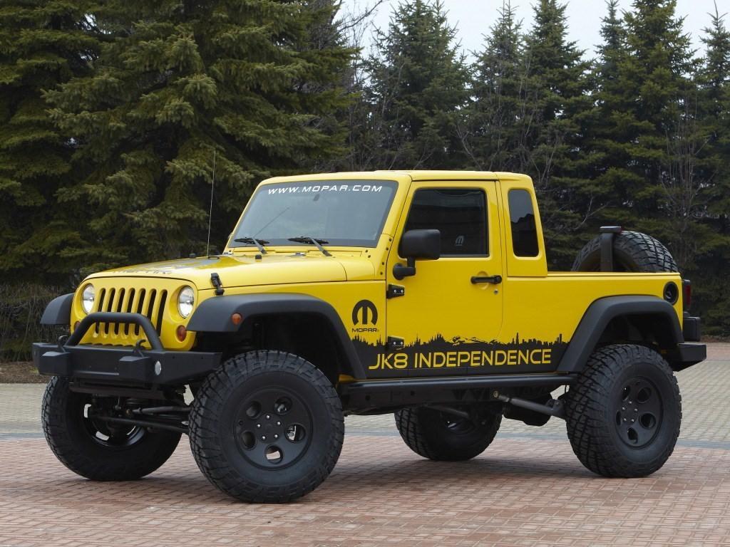 2011. Jeep Wrangler JK-8 Independence Concept (JK)