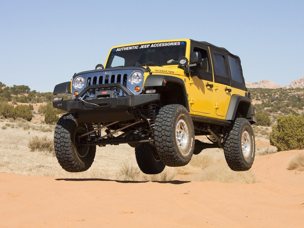 2007. Jeep Wrangler Rubicon Authentic (JK)