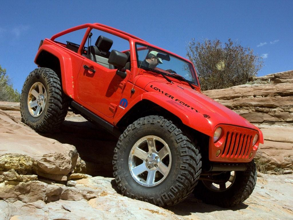 2009. Jeep Lower Forty (Concept) (JK)