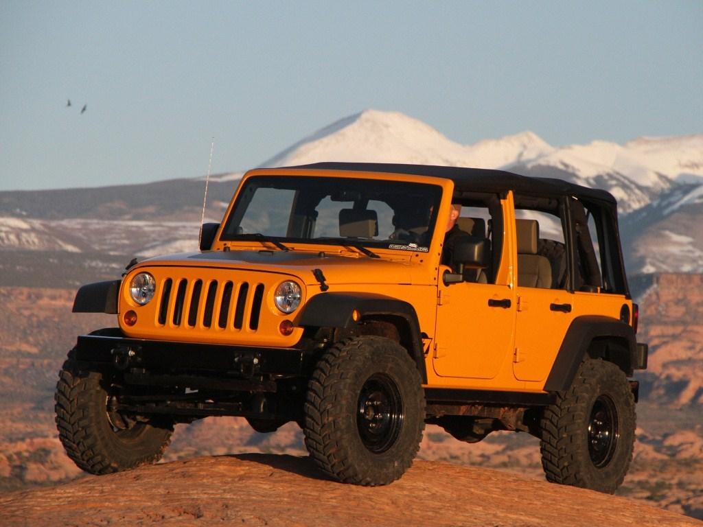 2010. Jeep Wrangler J7 Concept (JK)