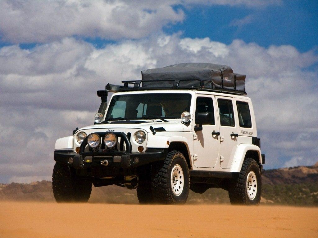 2009. Jeep Wrangler Overland (Concept) (JK)