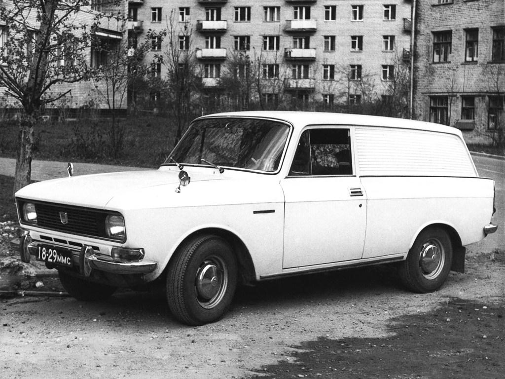 1976-1981. AZLK Moskvich 2734 (2733)