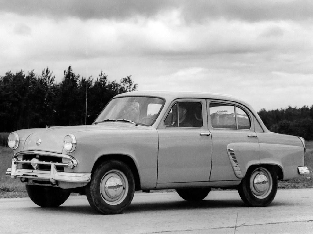 1956-1958. MZMA Moskvich 402