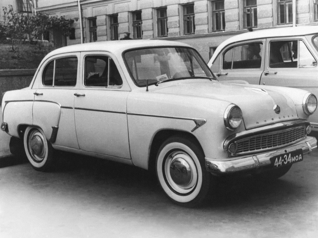 1962-1965. MZMA Moscvich 403