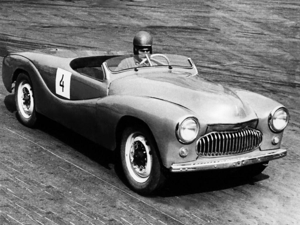 1954. MZMA Moskvich 404 Sport (Concept)