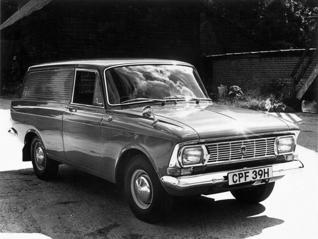 1969-1975. AZLK Moskvich 434P