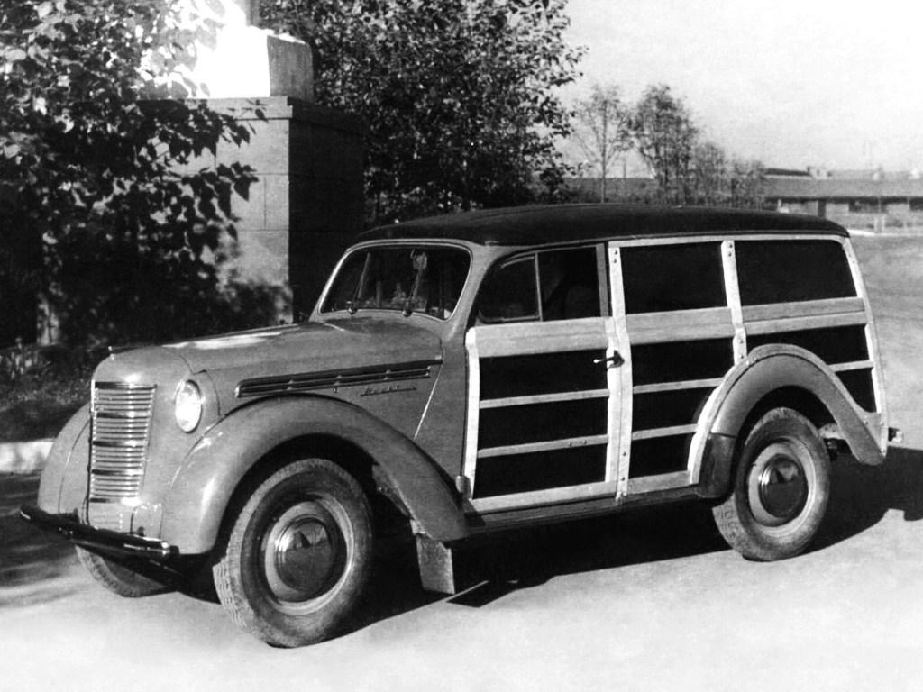 1947. MZMA Moskvich 400_421 (Concept)