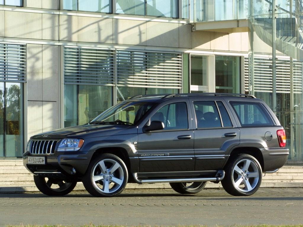 2002-2004. Startech Jeep Grand Cherokee Overland UK-spec (WJ)