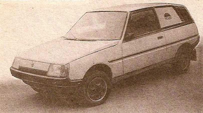 1992. ZAZ 3-door Foorgon (Concept)