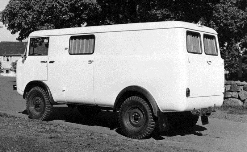 1964-1965. Jeep FC VBK