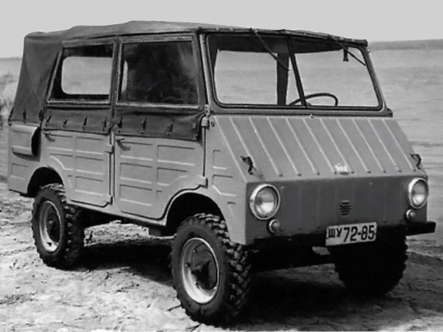 1962. ZAZ 971 (Concept)