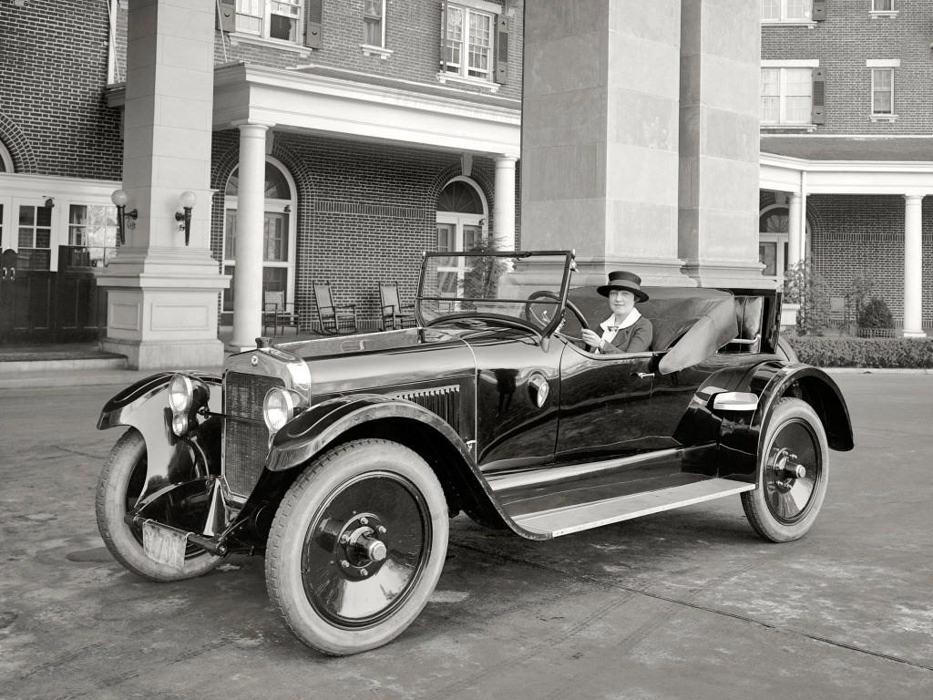 1921. Wills Sainte Claire V8 A-68 Roadster