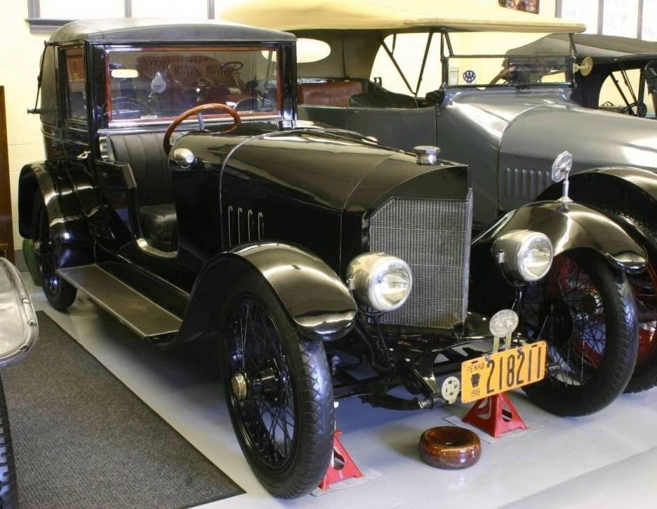 1916. Scripps-Booth Model D Town Car