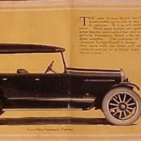 1920. Scripps-Booth Model В39 Touring