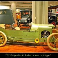 1913. Scripps-Booth JB Rocket Cyclecar Prototype