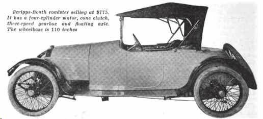 1915. Scripps-Booth Model C