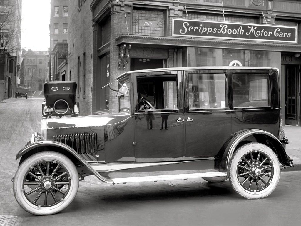 1921. Scripps-Booth Series B 5-passenger Sedan