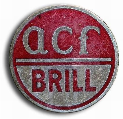 ACF Brill (Brill Corporation and American Car and Foundry Motors Company were merged as ACF-Brill in 1944)
