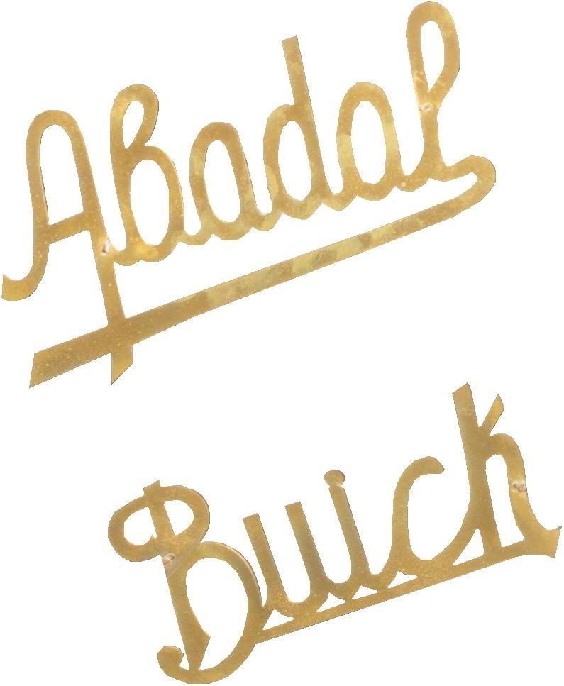 Abadal. Abadal-Buick. 1917-1923