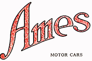 Ames (The Ames Motor Car Company, Incorporated) (Owensboro, Kentucky)(1913)