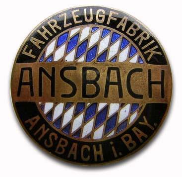 Ansbach (Fahrzeugfabrik Ansbach A.G.) (1906-1920)