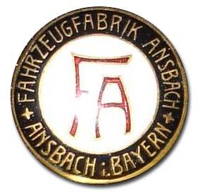 Ansbach (Fahrzeugfabrik Ansbach A.G.) (1926-1928)