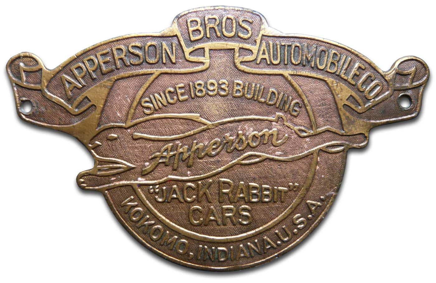 Apperson Brothers Automobile Company (Kokomo, Indiana)(1912)