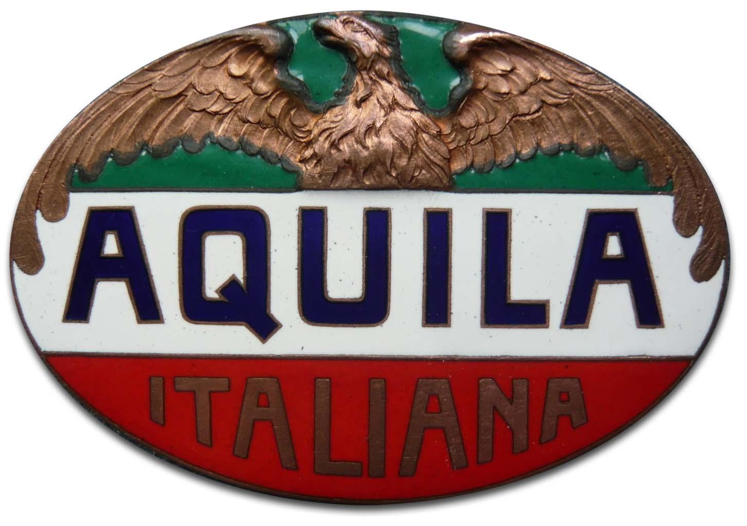 Aquila Italiana (Society Anonima Aquila Italiana) (1913 grill emblem)(1913)