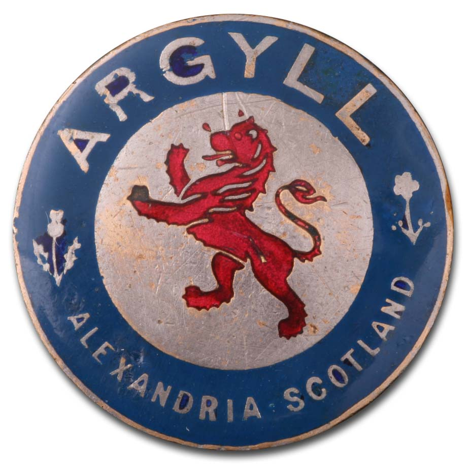 Argyll Motors Ltd. (Alexandria, West Dunbartonshire, Scotland)(1911)