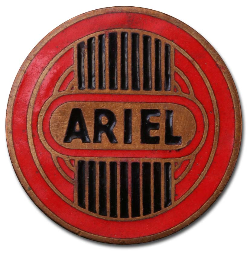 Ariel (1952 fuel tank emblem)
