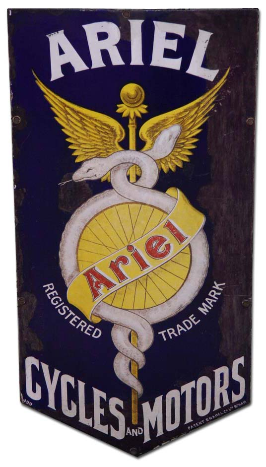 Ariel Cycles and Motors (1911 emblem)