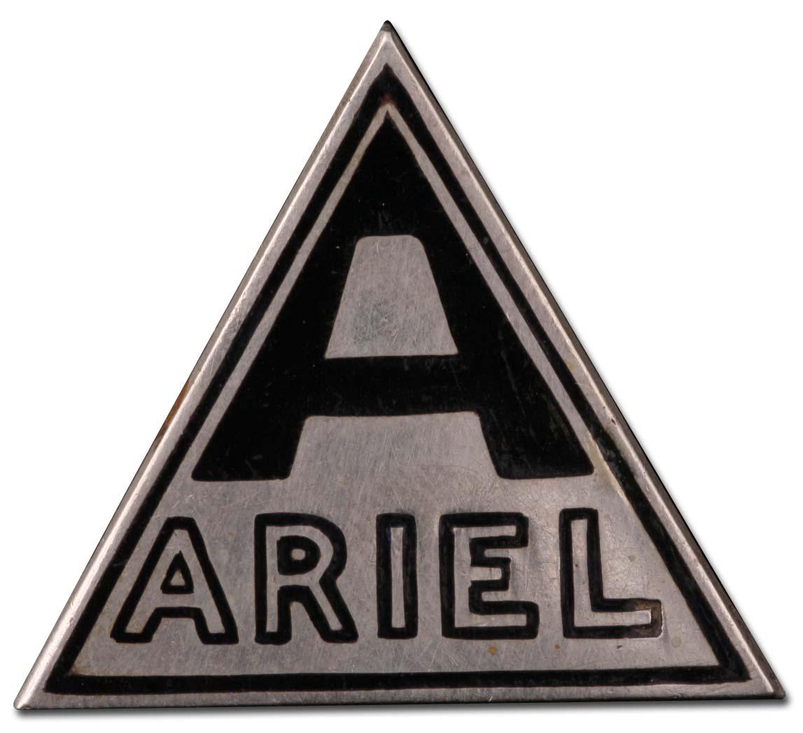 Ariel Motors Ltd. (1925 grill emblem)