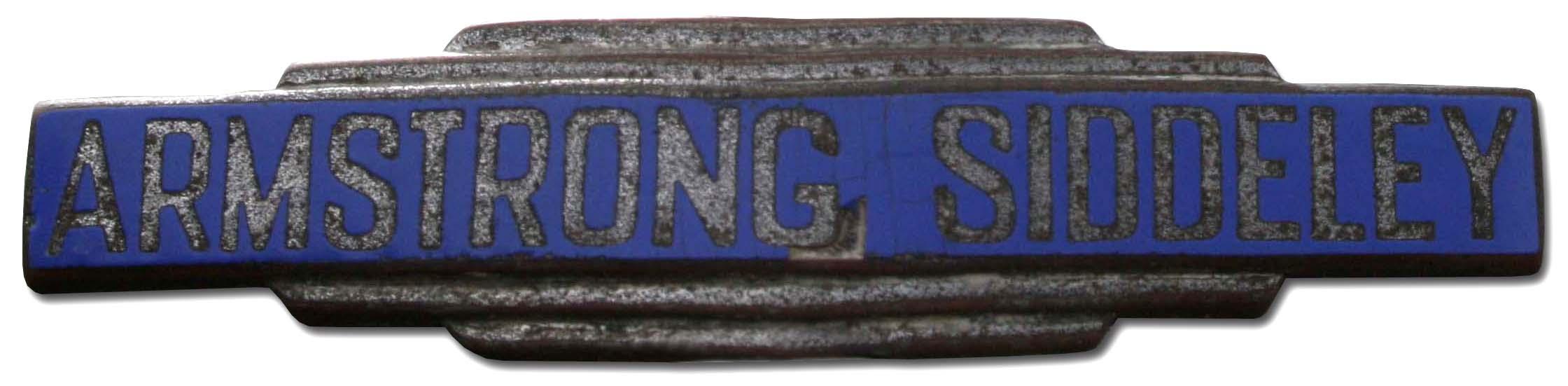 Armstrong Siddeley Sapphire MkI 3.4 Litre (1956 grill emblem)