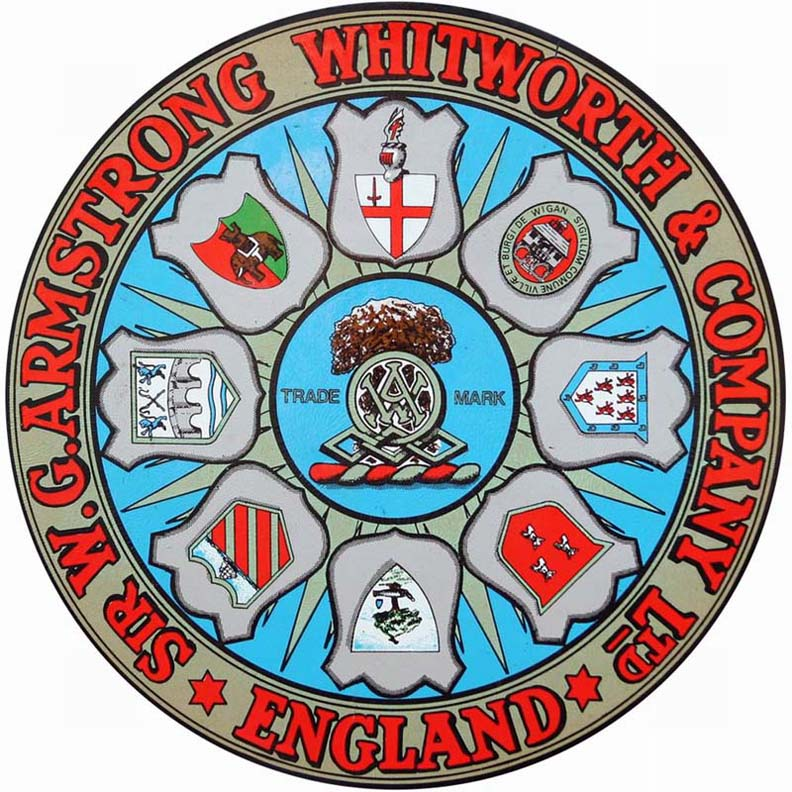 Armstrong Whitworth (Sir W.G. Armstrong, Whitworth and Company Ltd.) (Newcastle-upon-Tyne, Northumberland)(1906)1