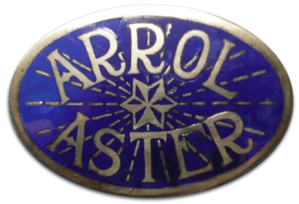 Aster Engineering (1922-1931 grill emblem)