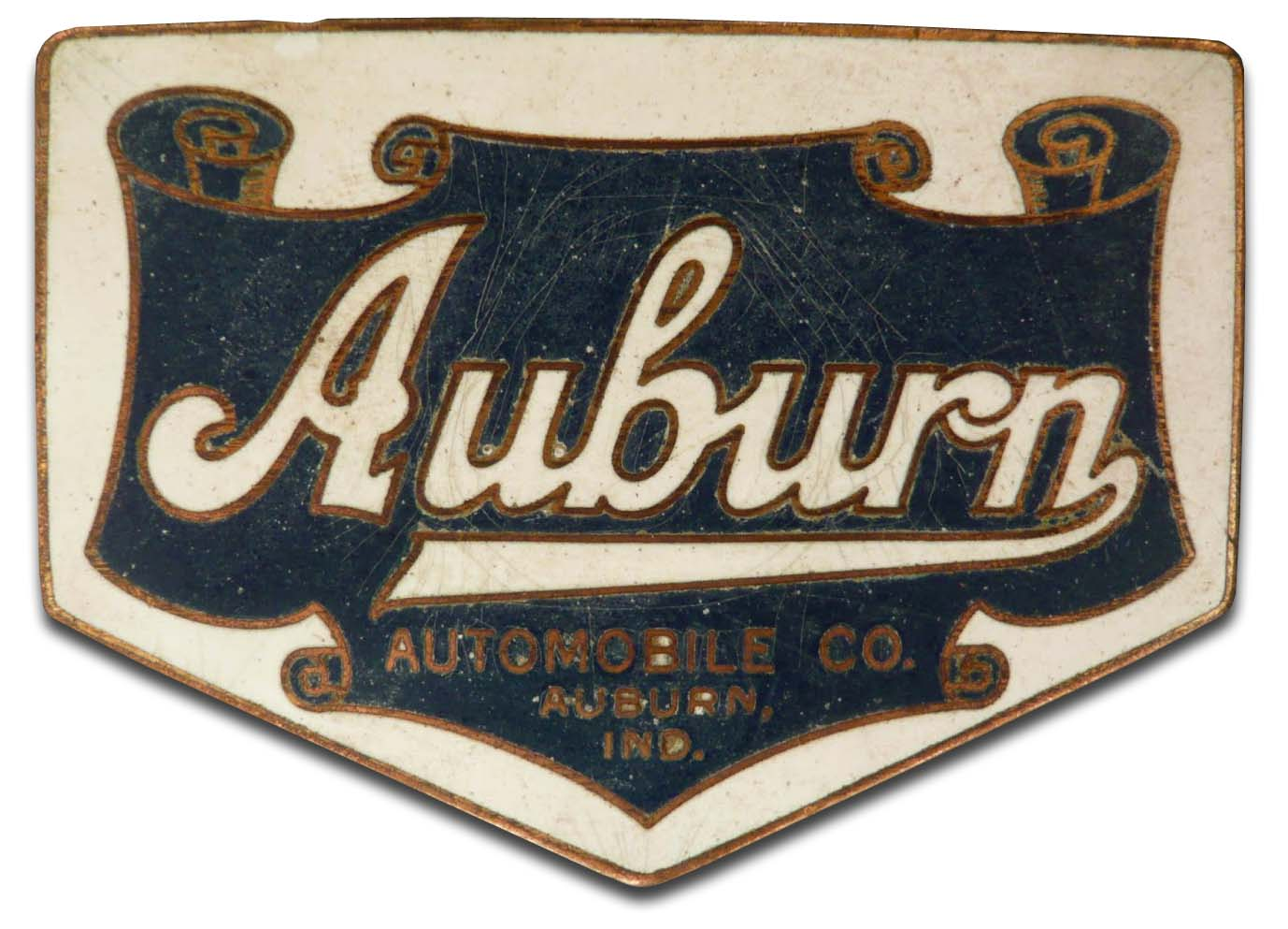 Auburn Automobile Co. (1916-1917 grill emblem)