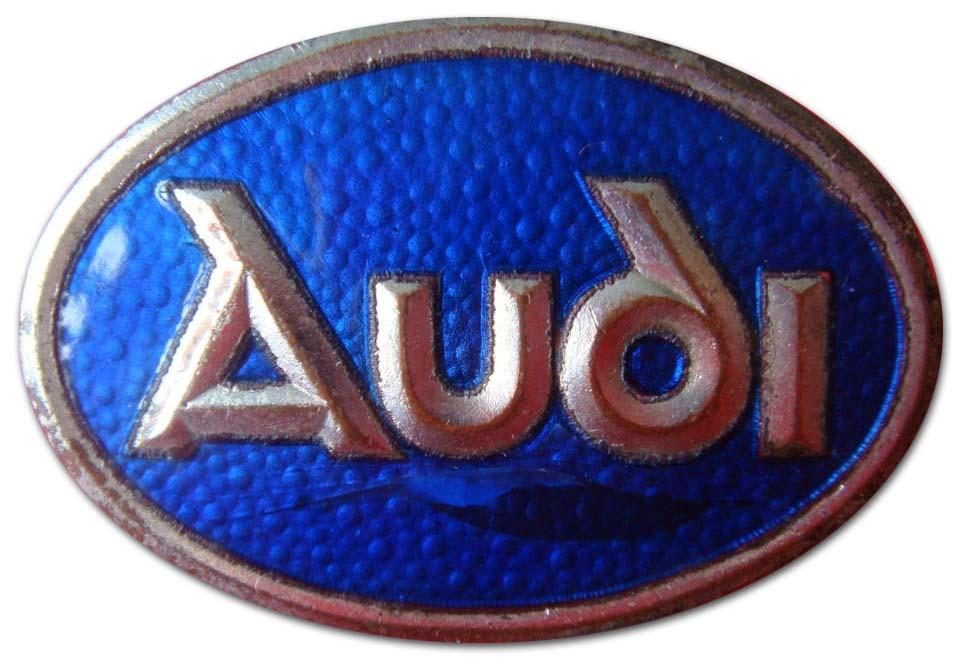 Audi Type E (1915-1924), Type G (1914-1923), Type M (1925-1928 grill emblem)