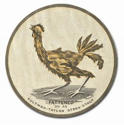 Aultman-Taylor (The Aultman and Taylor Machinery Co.) (emblem from 1912 catalogue cover)