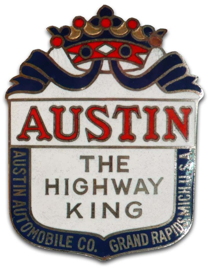 Austin Automobile Company (a la 1921 made in China grill emblem)