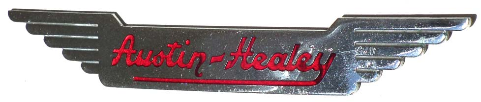 Austin-Healey 100 (1953-1956 hood emblem)